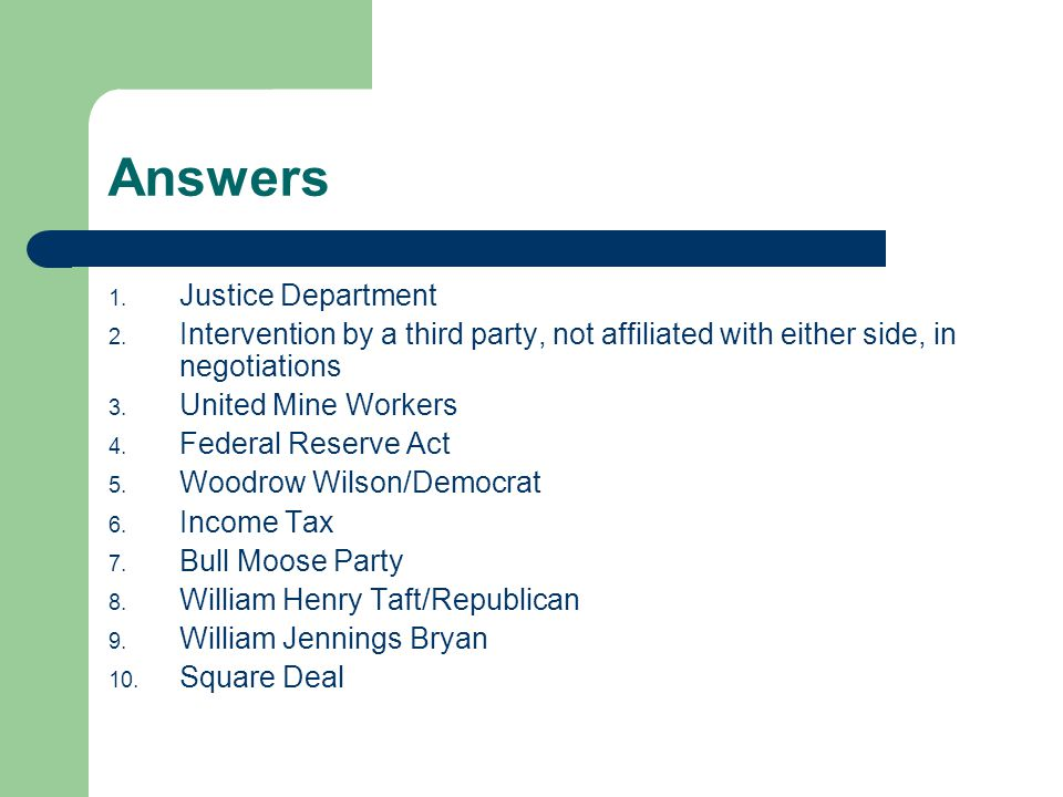 progressive presidents ppt video online download rh slideplayer com
