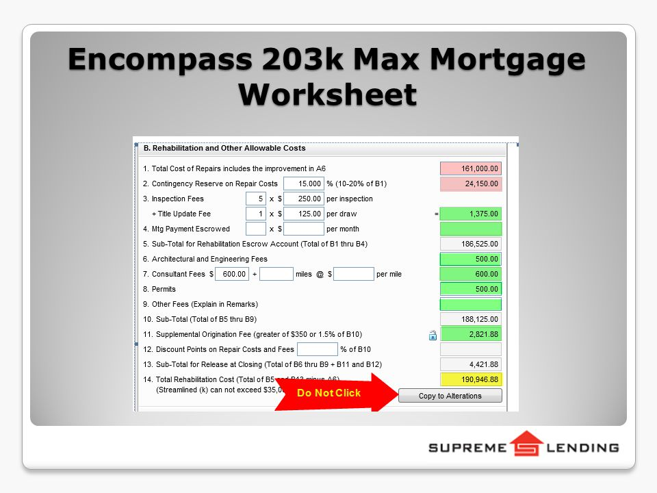 Welcome To Full Fha 203k Training Ppt Video Online Download