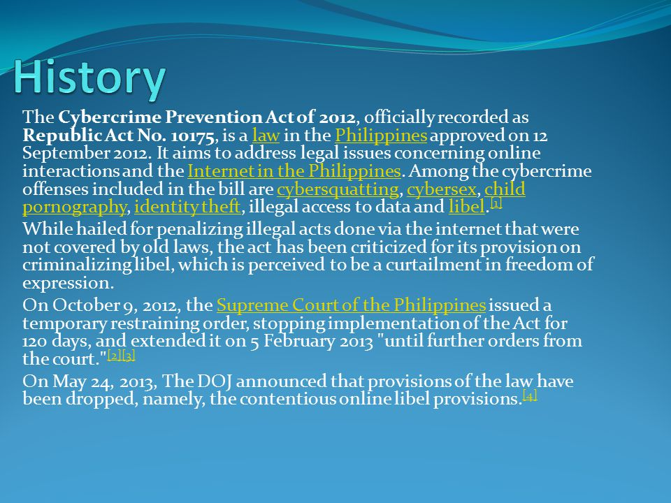 research paper about cybercrime law philippines