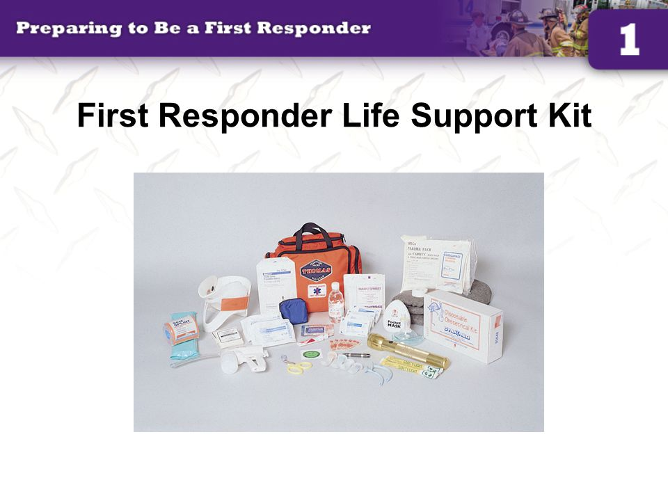 First Responder Life Support Kit