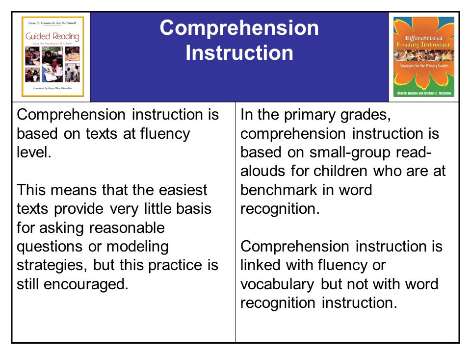 Guided Reading Versus Differentiated Instruction Ppt Video Online