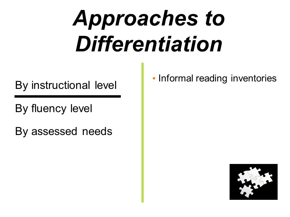 Differentiated Instruction For Reading Fluency Open Source User