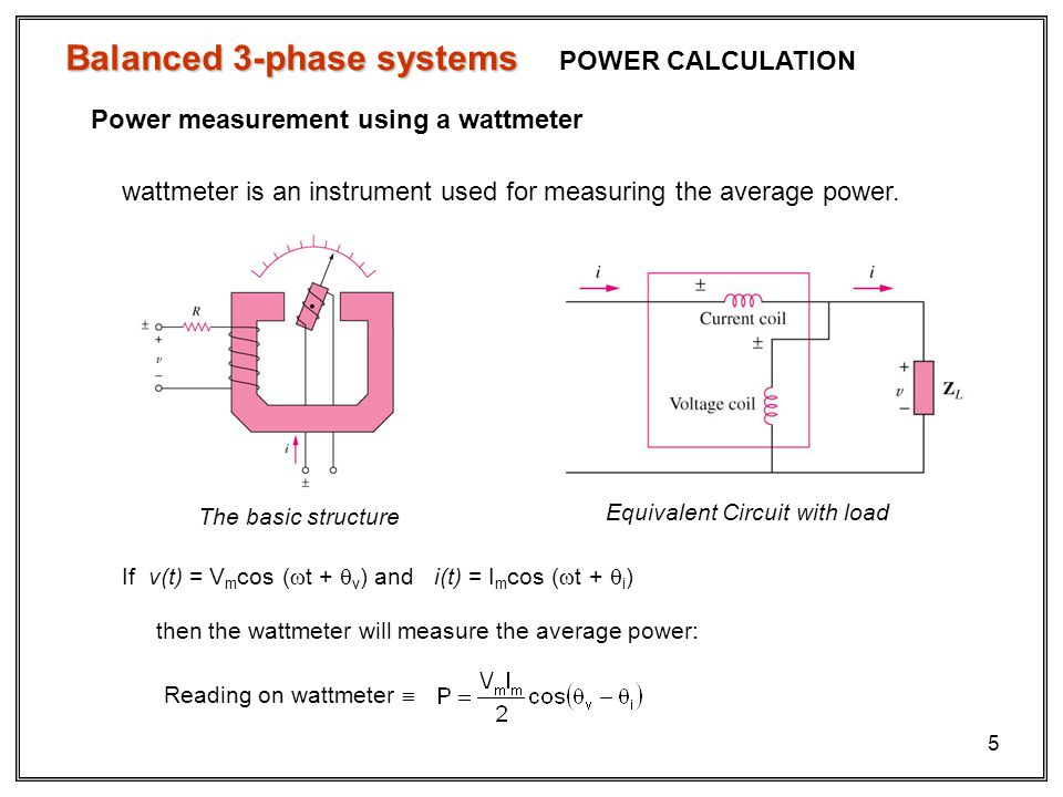 Balanced 3-phase systems Unbalanced 3-phase systems - ppt