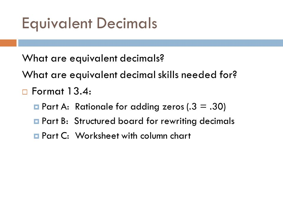 Fractions Ppt Video Online Download. Equivalent Decimals What Are. Worksheet. Dividing Decimals Adding Zeros Worksheet At Clickcart.co