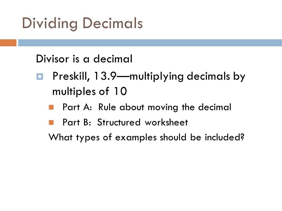 Fractions Ppt Video Online Download. Worksheet. Dividing Decimals In Dividend Worksheet At Clickcart.co
