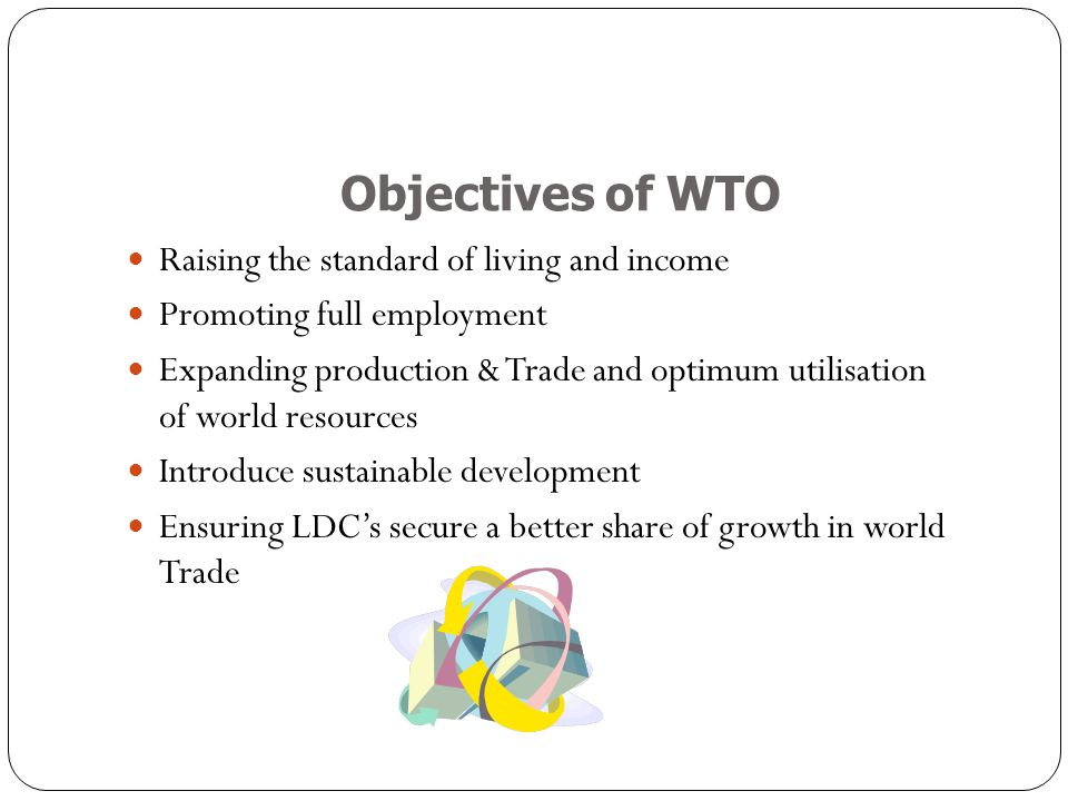 wto objectives and functions