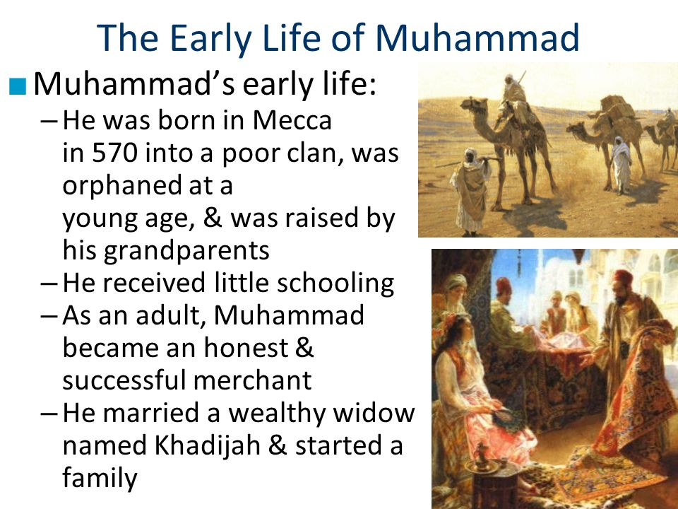 The Early Life of Muhammad