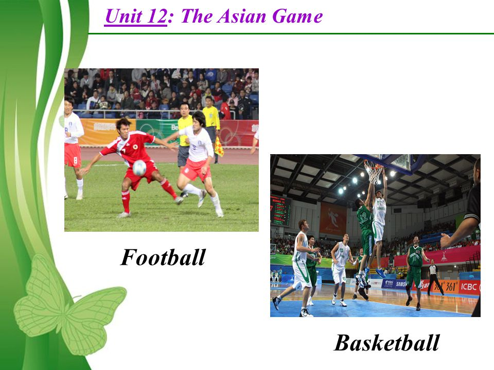Unit 12 The Asian Games Part A Reading Free Powerpoint