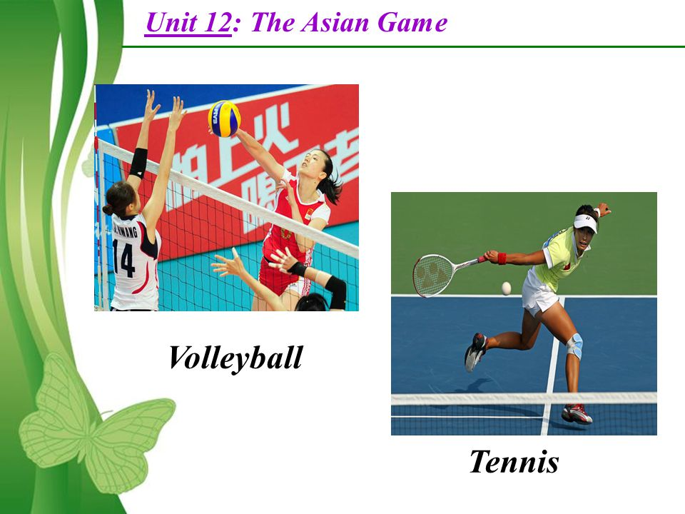 Unit 12 the asian games part a reading free powerpoint templates 4 unit 12 the asian game volleyball tennis toneelgroepblik Image collections