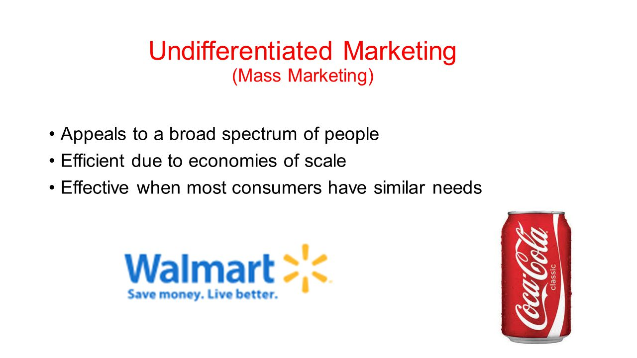Mass marketing definition explanation with examples | marketing tutor.