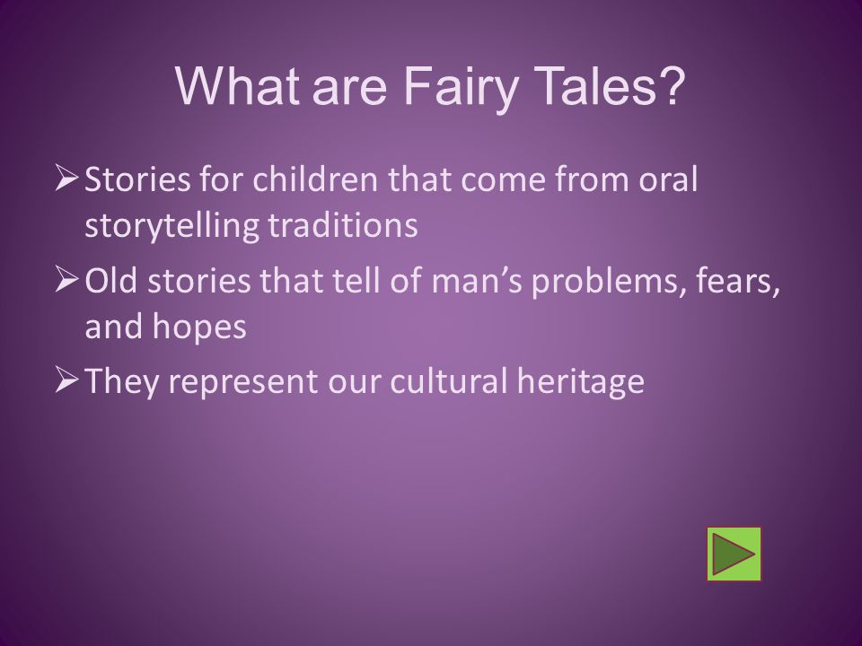 What are the Story Elements of a Classic Fairy Tale? - ppt