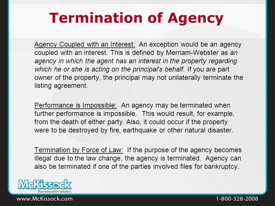 Agency Law Version Ppt Download