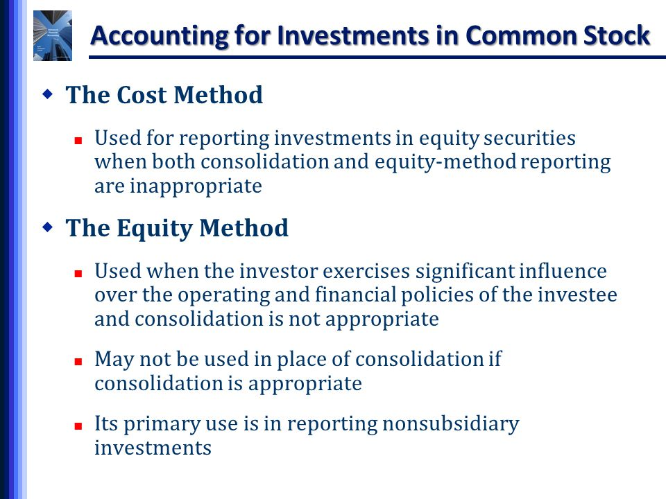 The cost method of accounting for investments requires alecta investment management aumsville