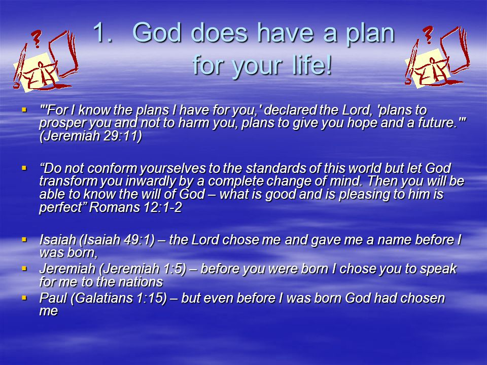 God's desire for our life - ppt video online download