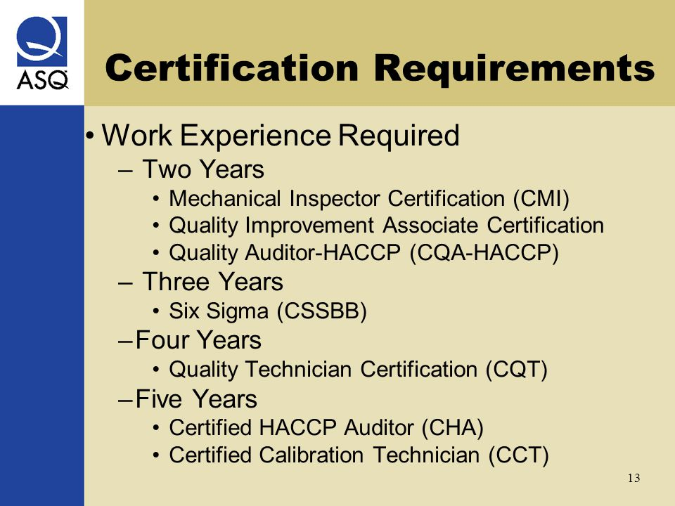Asq Certifications Joe Kirkpatrick September 22 Ppt Video Online