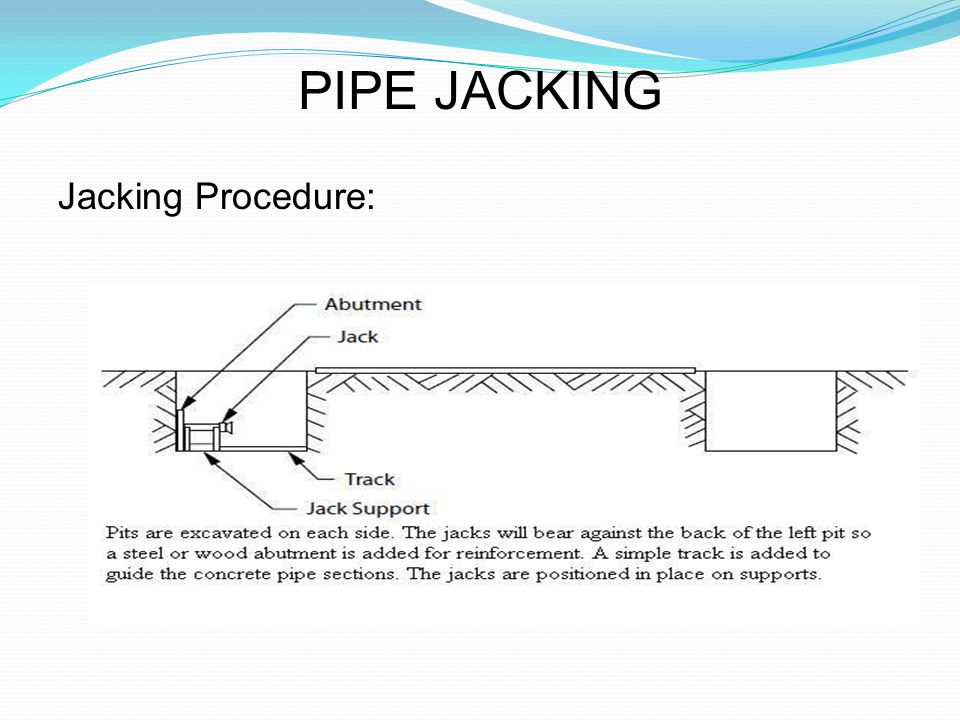 TRENCHLESS TECHNOLOGY - ppt video online download