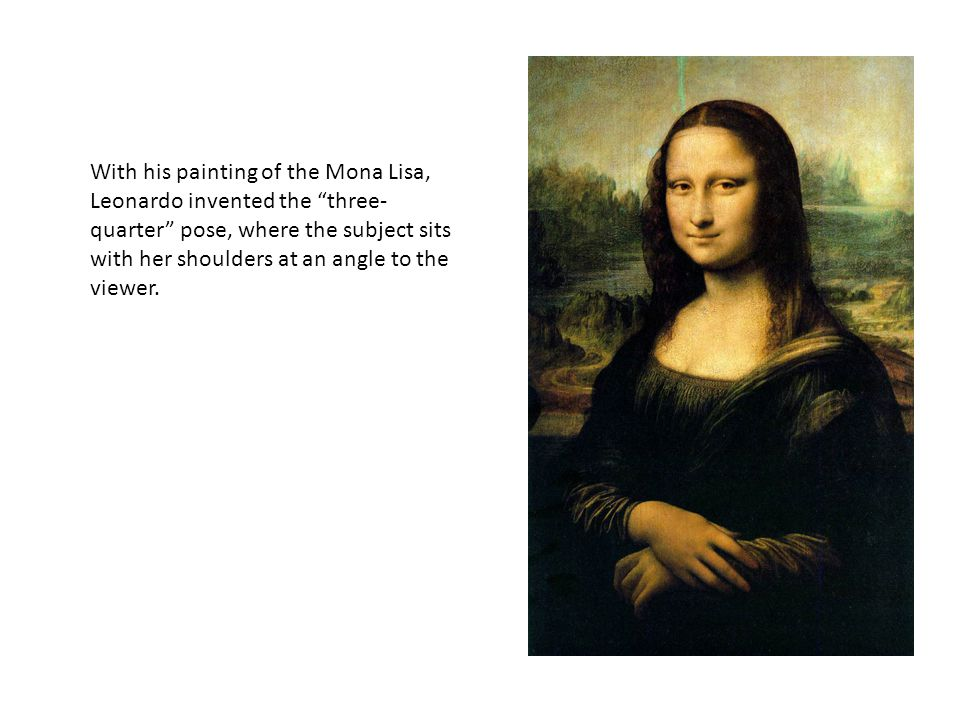 Mona Lisa Why Is She So Famous Ppt Download