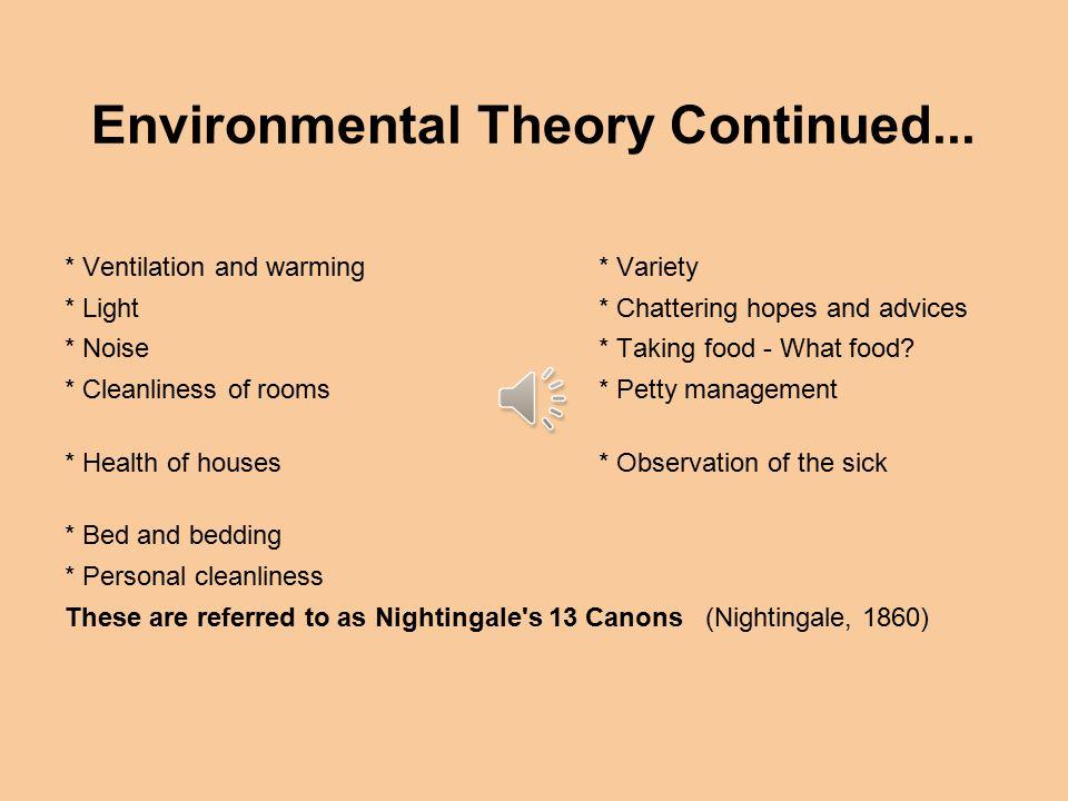 environmental theory