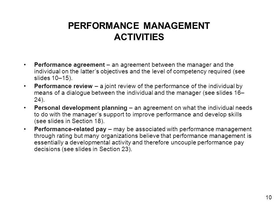 16 Performance Management Contents Ppt Download