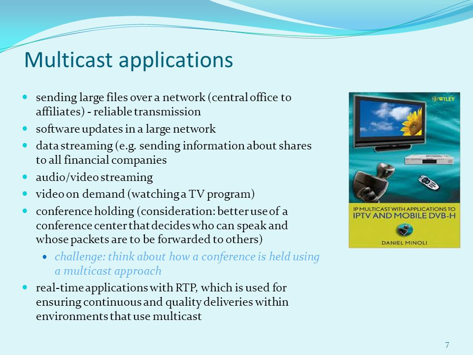 ip multicast with applications to iptv and mobile dvb h minoli daniel