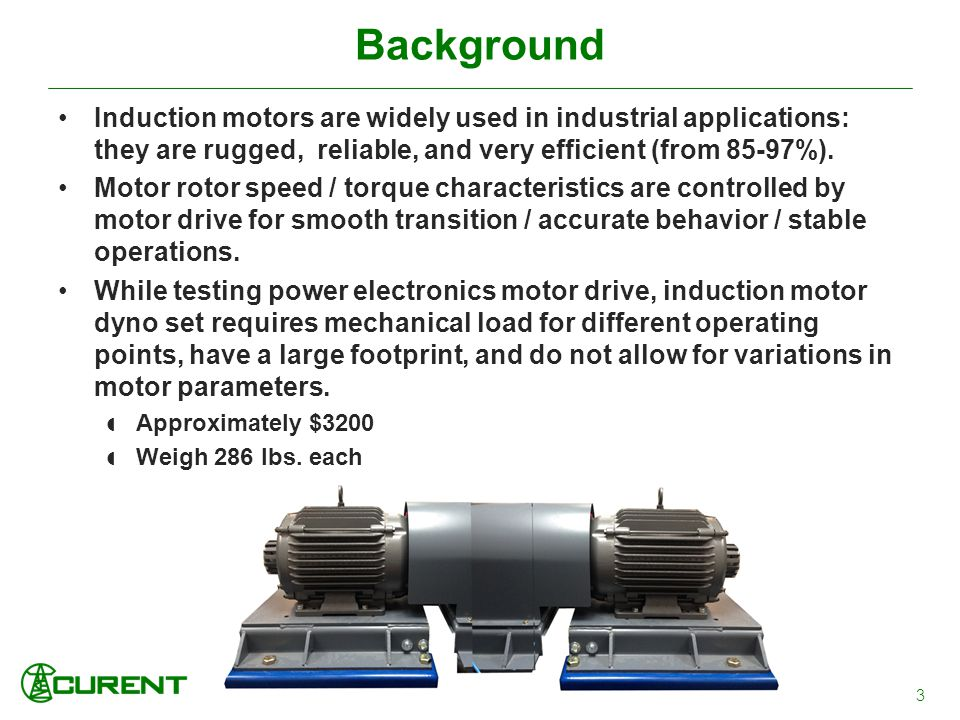 Background Induction Motors Are Widely Used In Lications They Rugged Reliable