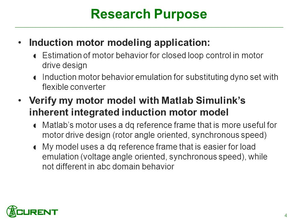Three Phase Induction Motor Dynamic Modeling and Behavior
