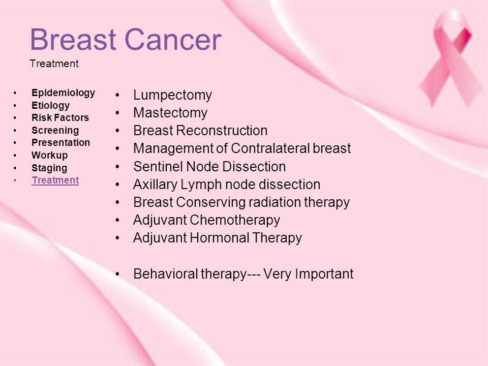 50 Breast Cancer Treatment