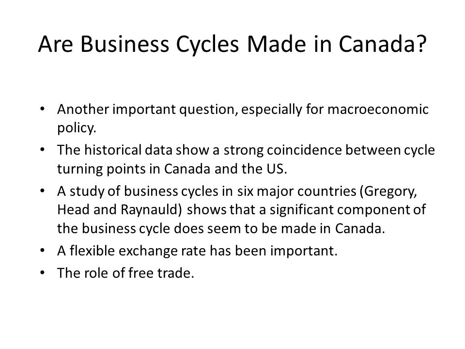 us business cycle data