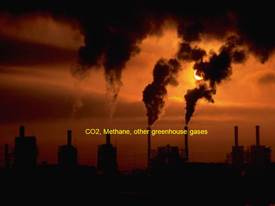 CO2, Methane, other greenhouse gases