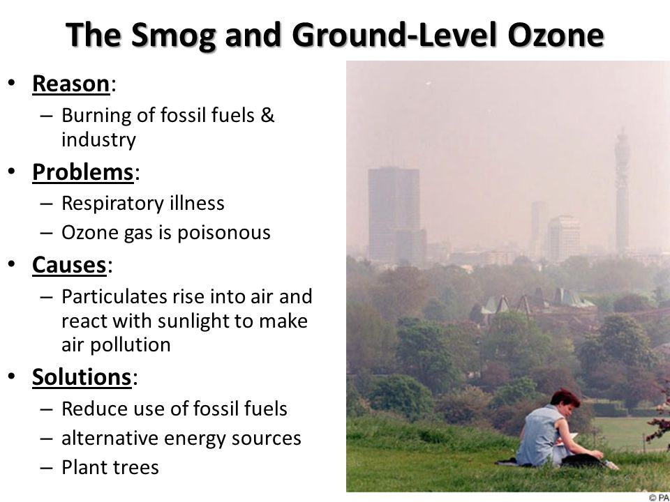The Smog and Ground-Level Ozone
