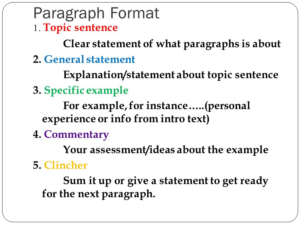 a body paragraph is any paragraph