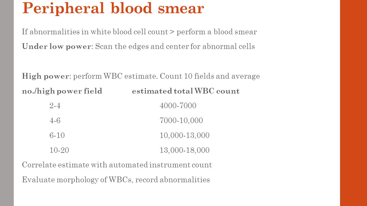 Leukocytes in the blood: normal and abnormalities 91