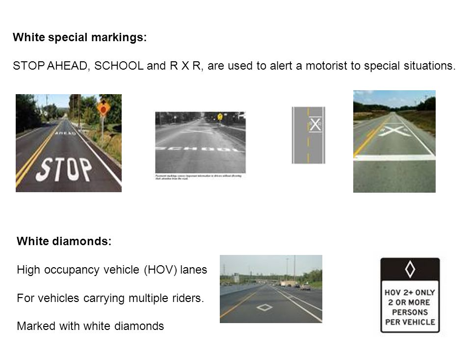 Three Types of Road Signs - ppt video online download