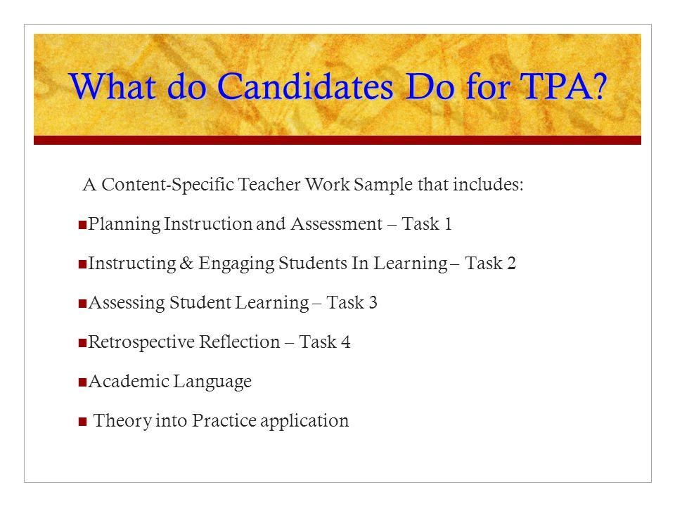 Teacher Performance Assessment Tpa Scorer Training Overview Ppt Video Online Download