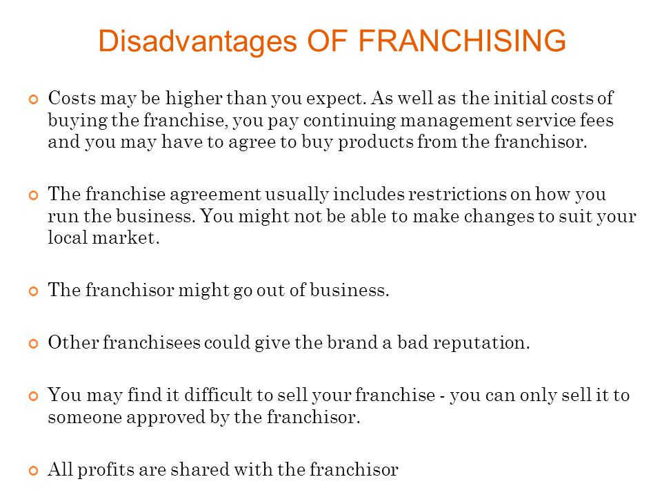 Franchising Ppt Video Online Download