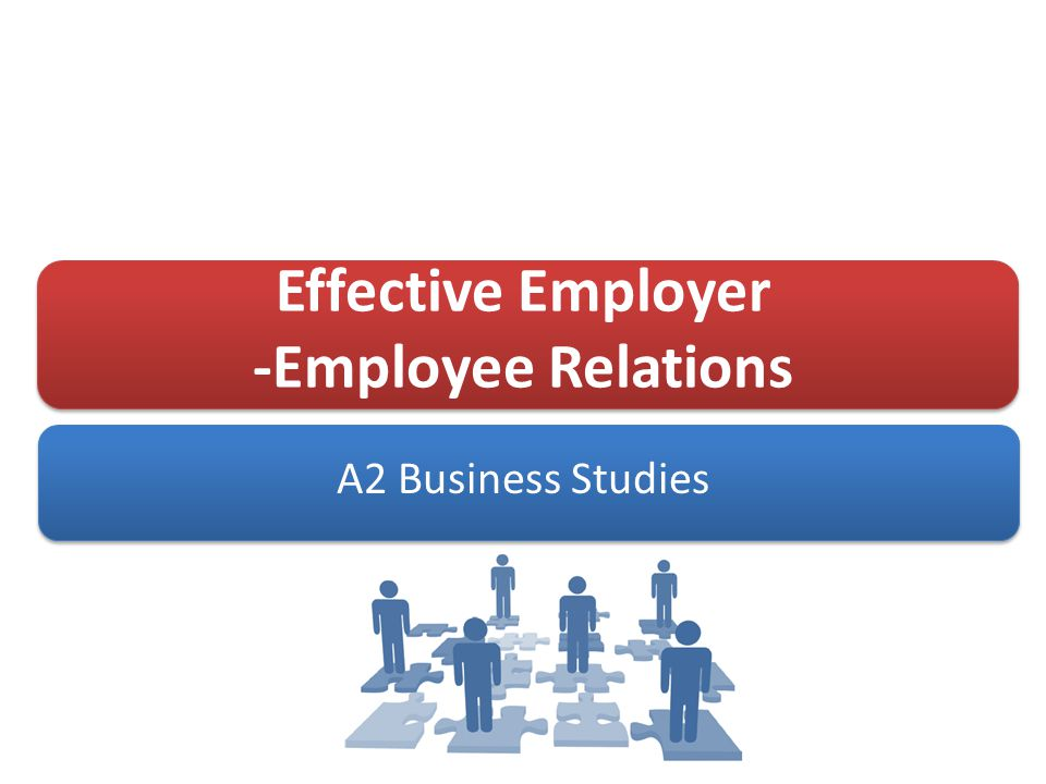 employer employee relations essay The employer must be able to identify if an employees' status as employee or independent contractor is correct for tax and benefit purposes in addition to exemption status on overtime compensation and employment at will laws.