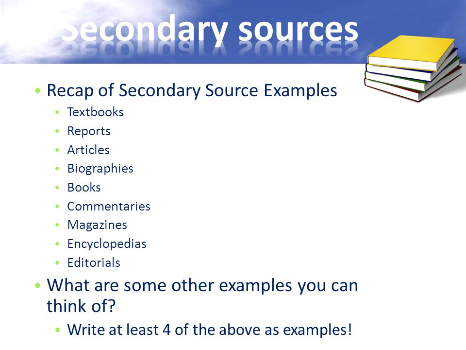 sources of secondary sources in pakistan Secondary sources instructional aid series secondary sources contents • introduction • alr® • legal encyclopedias (am jur® - some secondary sources are sufficiently respected that they can be used as persuasive authority when primary source authority cannot be found.