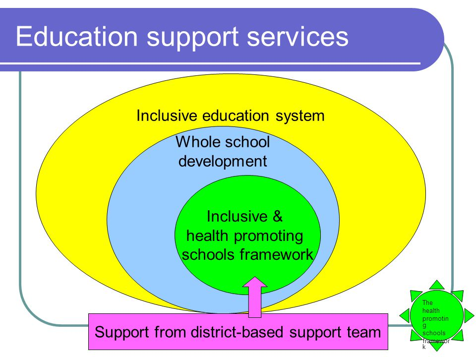 categories of educational support system