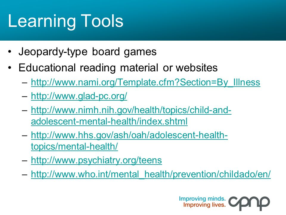 Medication & Adolescents: Empowerment Through Education - ppt download