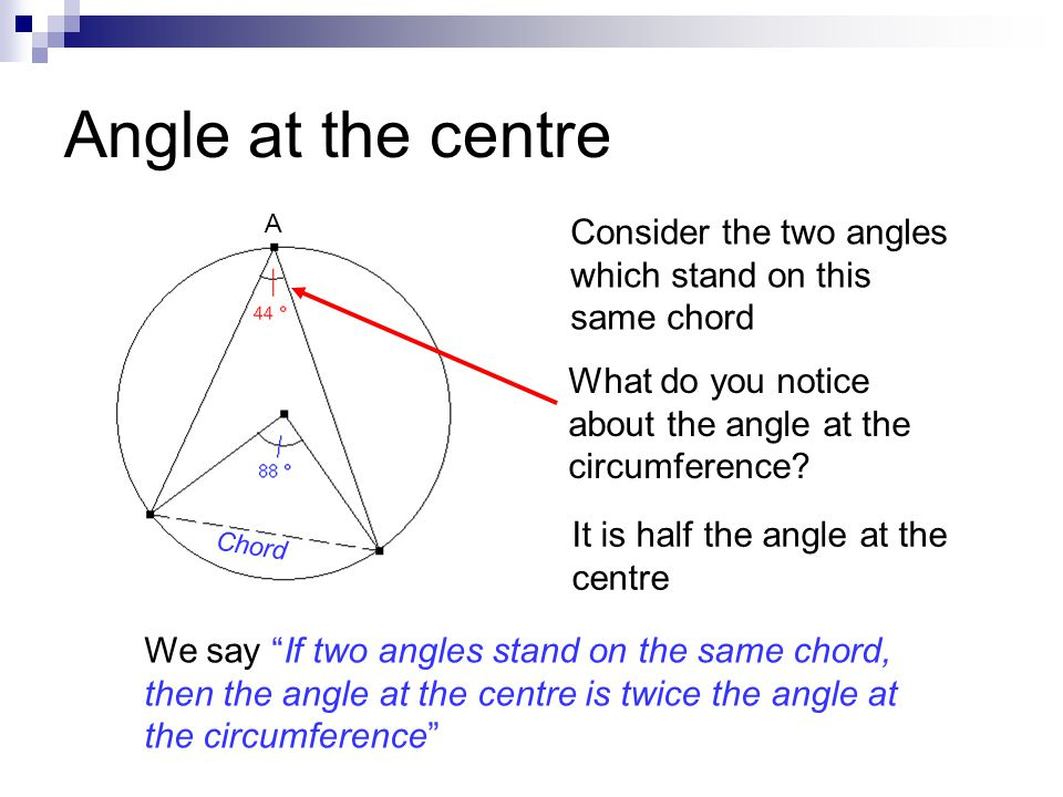 Circle Theorems. - ppt video online download