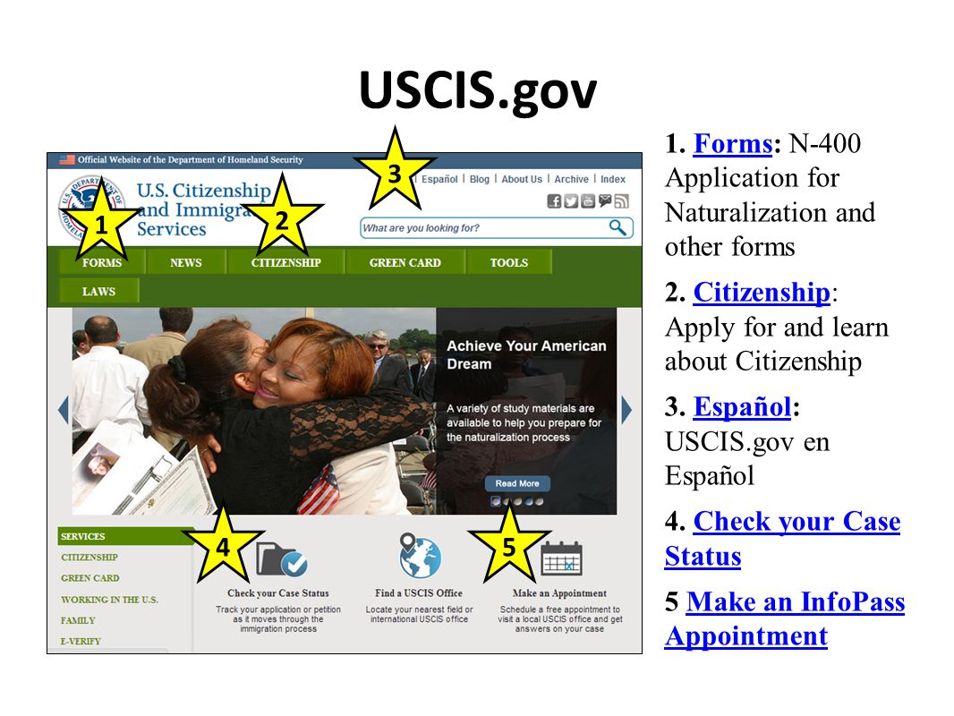 Summary -> Your Guide To Infopass Uscis - #gepezz
