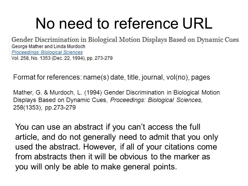 reference url