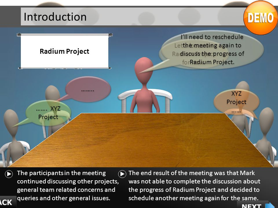 Let's focus on Radium Project for now.