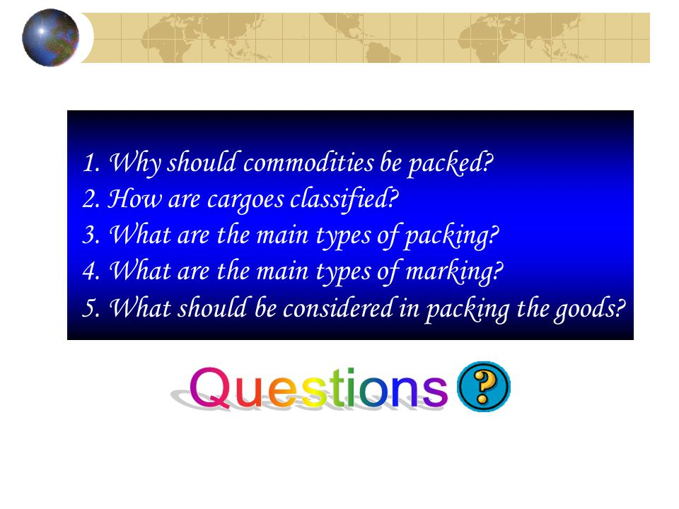 Packing and Marking Chapter Four - ppt video online download