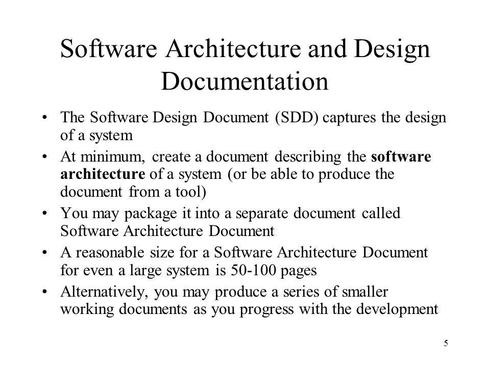 Se464 Cs446 Ece452 Documenting Software Architecture And Design Ppt Download