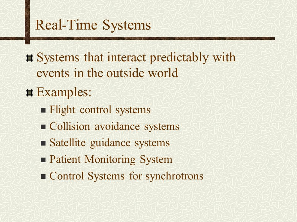 Performance Evaluation of Real-Time Operating Systems