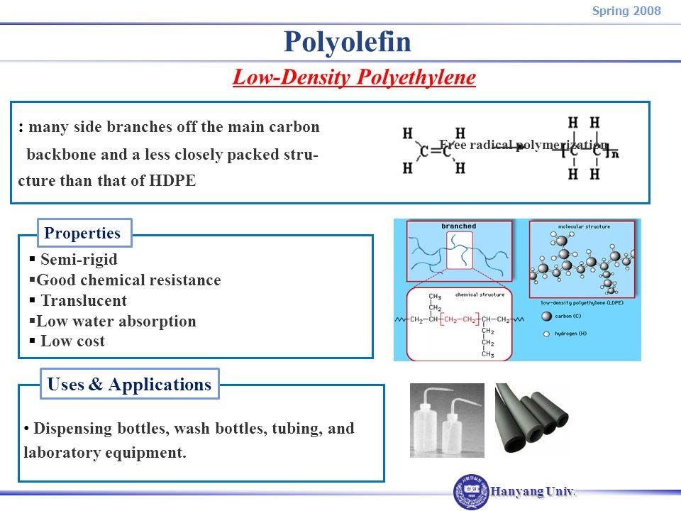Industiral Polymers Plastics Commodity Plastics Ppt