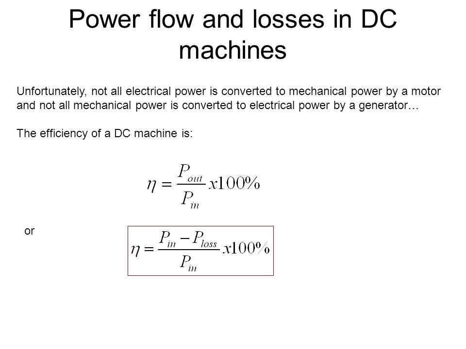 Introduction To Dc Machine Ppt Download