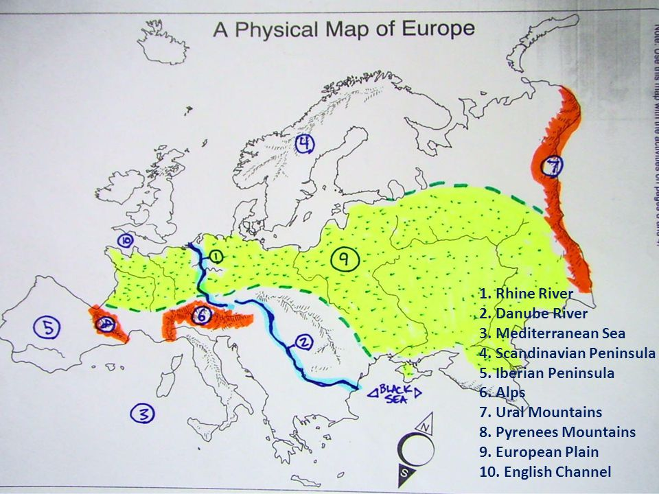 Europe Map Test Review Ss6g8a B Ppt Video Online Download