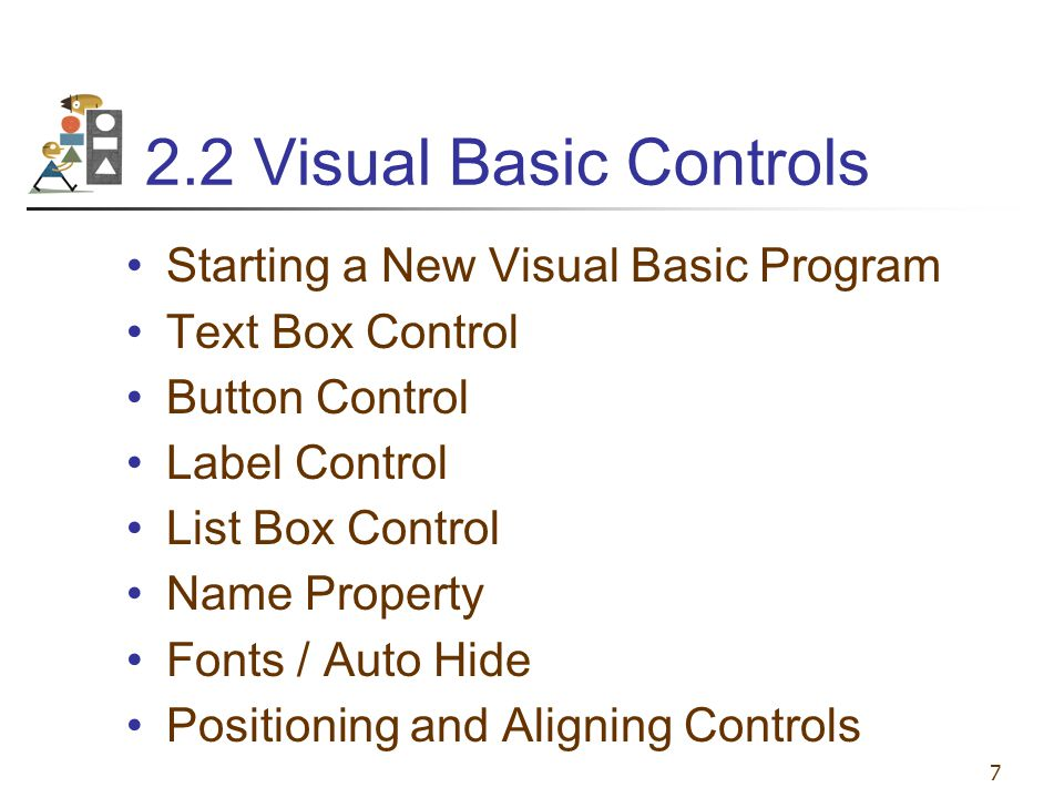 Chapter 2 –Visual Basic, Controls, and Events - ppt download